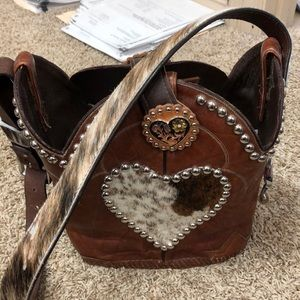 Handbags - Cowboy boot handbag